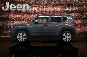 2017 Jeep Renegade 4x4 Limited Leather Roof Nav