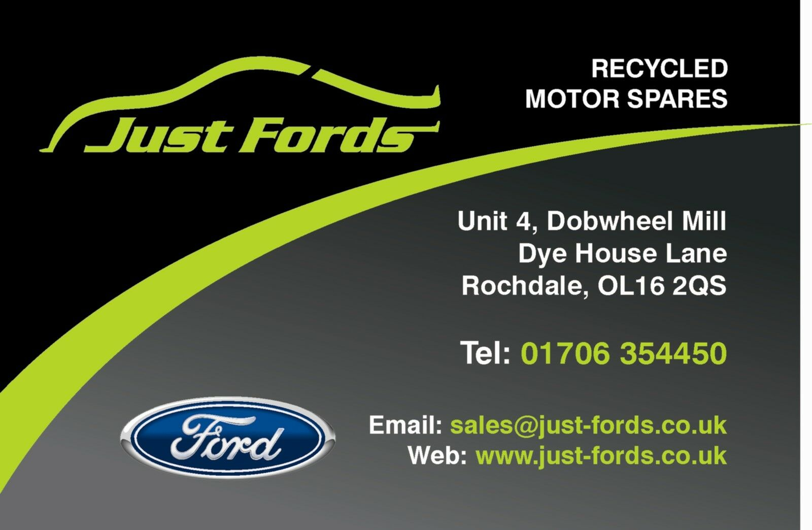 JUST FORDS PARTS
