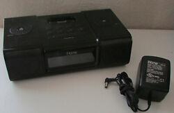 iHome iH9 Clock Radio Docking Station for iPhone iPod w/Power Adapter