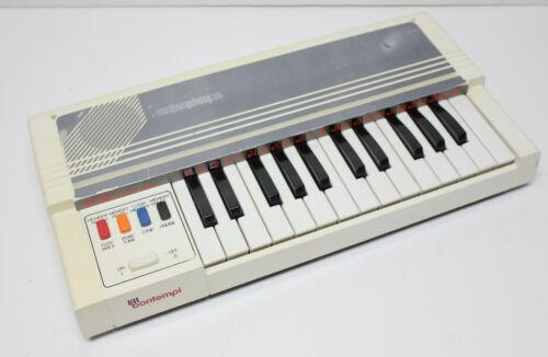 Vintage 80s Bontempi Memo Play 26 Recordable Organ Synthesizer Electronic Analog