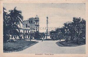 ARGENTINA - Rosario - Plaza Mayo 1927 - Italia - ARGENTINA - Rosario - Plaza Mayo 1927 - Italia