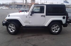 2015 Jeep Wrangler Sahara 2 Door