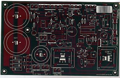 0 - 400V / 22 - 600mA-Regelbares Netzteil, Leiterplatte, Platine, RoHs
