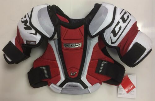 New CCM U+ Pro Stock NHL chest/shoulder pads Sr. small size senior S ice hockey