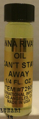 Can't Stay Away Oil, Anna Riva, 1/4oz, Lunari13, Wicca, Santeria, Brujeria