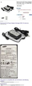 Samsung 5V AC Power Adapter Inforanger SCM 110 (NSM-300)