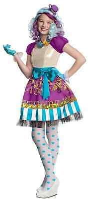 Madeline Hatter Costume (Madeline Hatter Ever After High Mattel Doll Fancy Dress Halloween Child)
