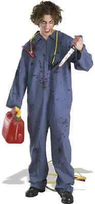 Killer Mechanic Michael Myers Blue Jumpsuit Fancy Dress Halloween Adult Costume](Mechanic Costume)