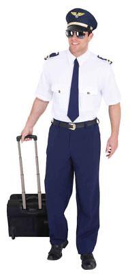 Flugkapitän Kostüme (Pilot Herren Kostüm als Flugkapitän verkleiden zu Karneval Fasching)