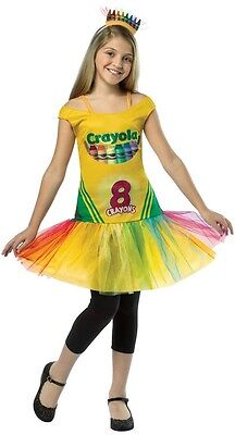 Crayon Box Tutu Crayola Crayons Cute Fancy Dress Up Halloween Child Costume