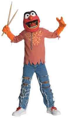 Animal Muppets Cartoon Monster Drummer Fancy Dress Halloween Child Costume