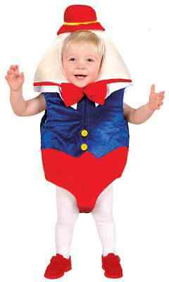 Humpty Dumpty Storybook Fairy Tale Fancy Dress Halloween Toddler Child Costume