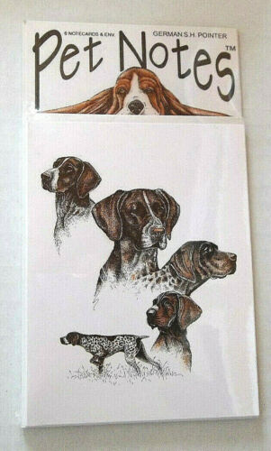 German Shorthaired Pointer Note Cards