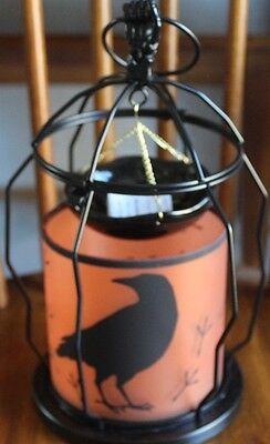 Yankee Candle Tart Burner Halloween (2017 Yankee Candle Halloween Hanging RAVEN Tart Warmer Burner ~~New in)