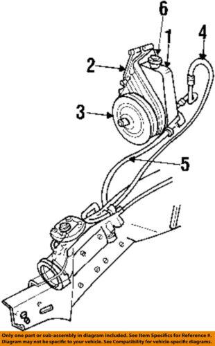 Dodge Chrysler Oem 9401 Ram 1500power Steering Pump Rl039145ab Ebay. Dodge Chrysler Oem 9401 Ram 1500power Steering Pump Rl039145ab. Dodge. Power Steering Pump Diagram For Dodge 2 7 At Scoala.co