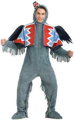 Flying Monkey Winged Wizard of Oz Animal Fancy Dress Up Halloween Adult Costume](Flying Monkey Costume Wizard Of Oz)