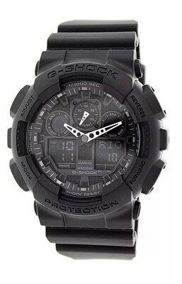 Casio G-Shock GA100-1A1 Black Digital Wrist Watch