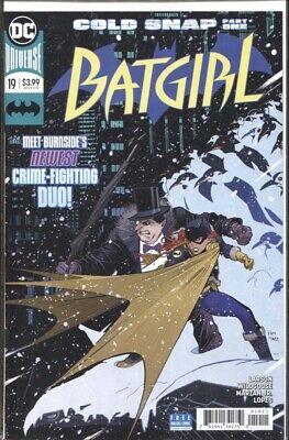 BATGIRL #19 REBIRTH / COLD SNAP PT 1 / PENGUIN TEAM-UP NM