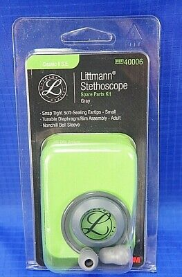 40006 3m Littmann Stethoscope Spare Parts Kit Classic Ii Se - Gray