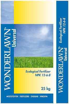 Fertilizzante per prato autunnale estate & inverno 25kg NPK Siepe Erba Top