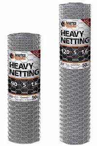Heavy Boundary Netting - 50mm Hex x 1.6mm x 50m - Various heights Caloundra West Caloundra Area Preview