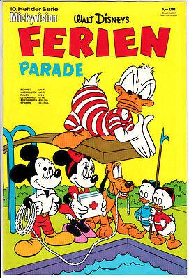 Walt Disney Mickyvision 2.Serie ab 1967 Nr 10 TOPZUSTAND (0-1/1) FERIEN-PARADE
