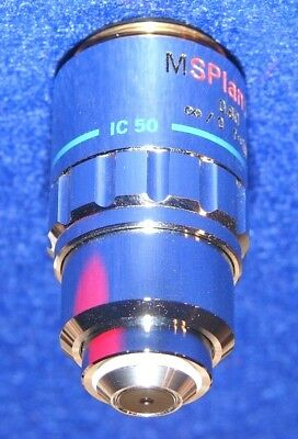 Olympus Microscope Objective Ms Plan 50x 080 106074