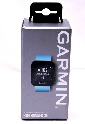 Garmin Forerunner 35, Easy-to-Use GPS Running Watch, Frost Blue, 1