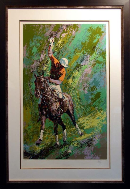 Mark King Polo With New Custom Frame Hand Signed Limited Edition Free Shipping
