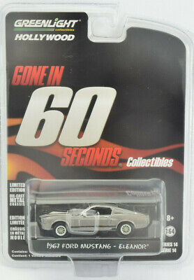 Greenlight Gone In 60 Seconds 1967 Ford Mustang - Eleanor 1:64 Diecast Car 44742](Toys Car)