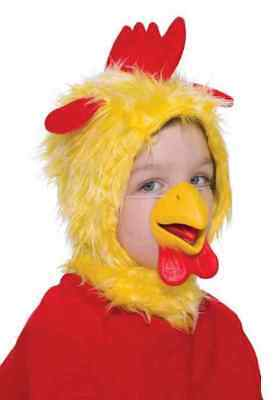 Chicken Disguise Kit Rooster Animal Mask Nose Halloween Child Costume Accessory Disguise Kit