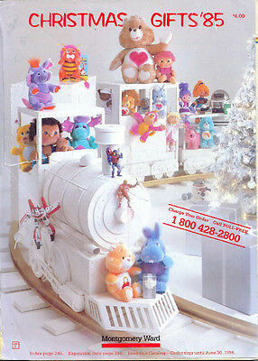 WARDS 1985 WISH BOOK FOR KIDS '85  CHRISTMAS TOY CATALOG ](Christmas Catalogs For Kids)