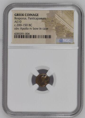 BC 200-150 Greek Coinage NGC - Bosporous, Panticapaeum