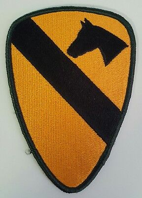 Lot of 2 Military Patches US Army 1st Cavalry Division Colored New Fort Hood