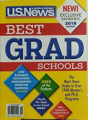 Us News   World Report Best Grad Schools 2018 Edition Business Free Shipping Sb