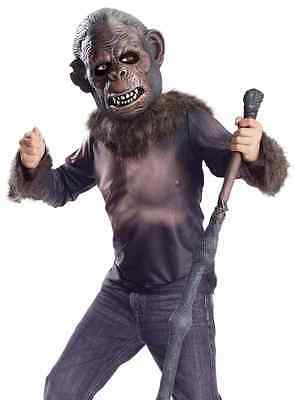 Koba Dawn Planet Apes Movie Monkey Bonobo Fancy Dress Up Halloween Teen Costume](Teen Movie Costumes)