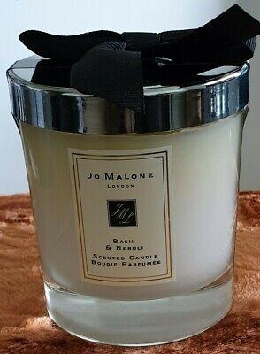 Jo malone scented candles  BASIL & NEROLI