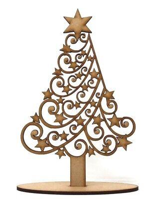 Premium Christmas Tree MDF craft Shape design, Christmas gift ideas table decor](Christmas Gift Craft Ideas)