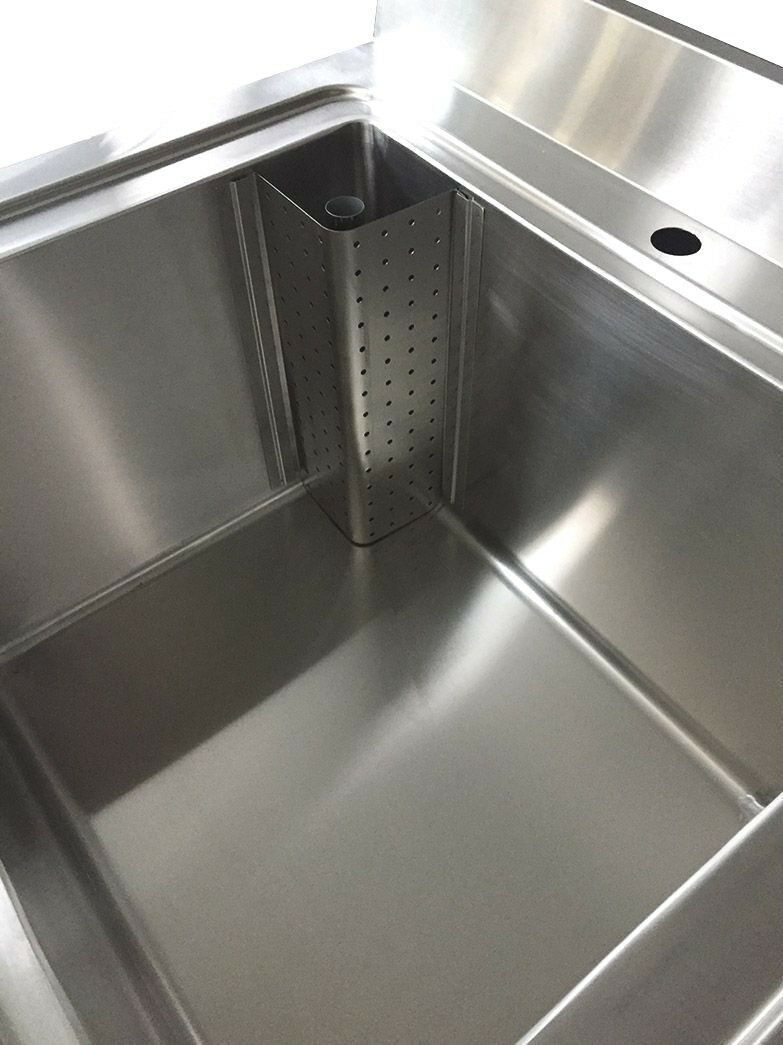 Commercial Stainless Steel Single Deep Large Pot Pan Wash