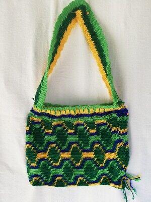 Sweet Bilum bag Market bag Hand made Crocheted in Papua New Guinea