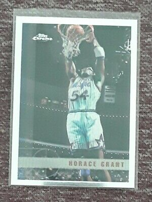 LAST DANCE!! 1997-98 TOPPS CHROME #93 HORACE GRANT!! GREAT CONDITION!!