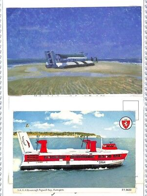 BC270 GB Hoverlloyd Hovercraft Service Postcard PTS