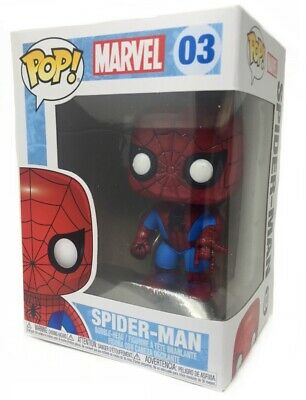 Funko POP! Marvel 4 Inch Vinyl Bobble Head Figure - Spider M