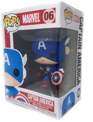 Funko Marvel Captain America Pop Vinyl Figure