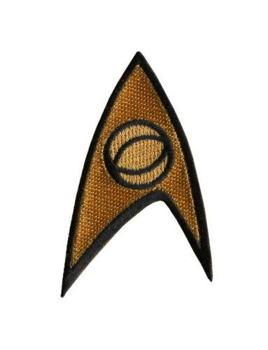 Science Officer Insignia Spok Original Gold Star Trek Cosplay Uniform Patch