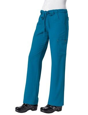 - New Koi Alicia Pant Sapphire Four Way Stretch Scrubs Cago Pants Sizes