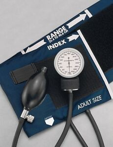AMAZING NEW ADULT BLOOD PRESSURE BP CUFF SET W/CASE