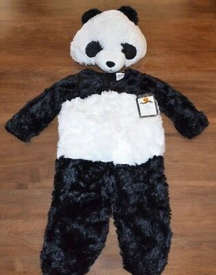 Pottery Barn Kids Panda Bear Halloween Costume Size 3T NEW w/ Tags](Kid Bear Costume)