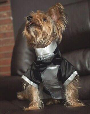 t Huir Quality Suit Costume  For Pets- Dog Or Cat (Cat Tuxedo Kostüm)