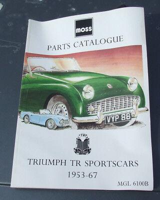 Moss Parts Catalog -Triumph TR Sportscars 1953-67